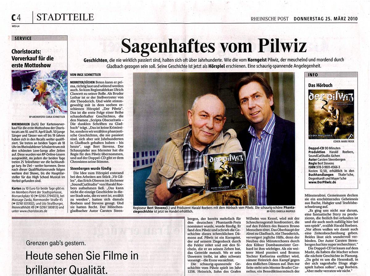 Rheinische Post vom 25.03.2010
